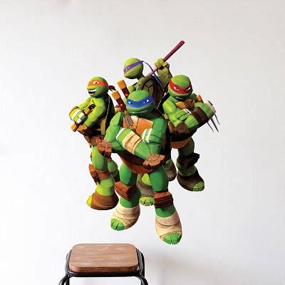 ninja turtle wallpaper for bedroom ninja turtle wall decal murals ninja turtles bedroom
