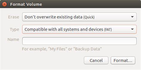 format dvd rw ubuntu linux how do i delete a re writable cd rw in ubuntu
