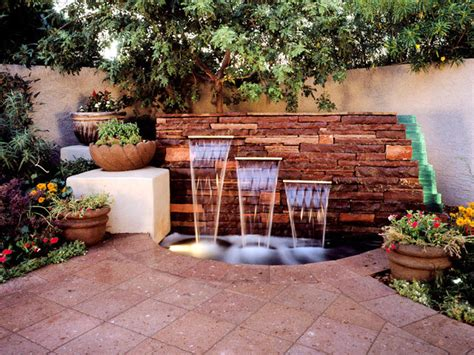design water feature your backyard design style finder landscaping ideas and