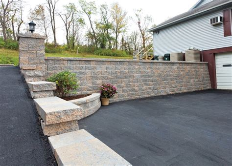 home designer pro retaining wall ep henry walls new york by v s landscape supply