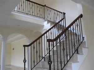 colonial iron works iron interior handrails