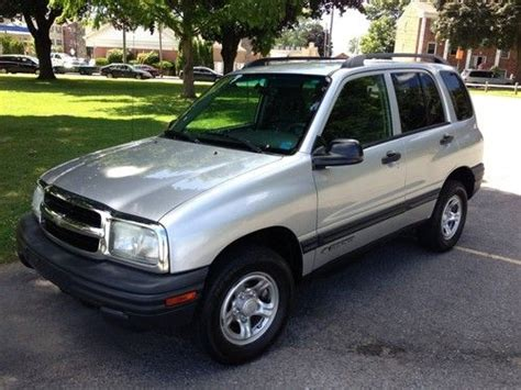automobile air conditioning repair 2003 chevrolet tracker on board diagnostic system find used 2003 chevrolet tracker 4 door 4x4 in schenectady new york united states