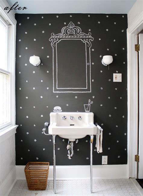 chalkboard paint bathroom vintage frames chalkboard diy ideas