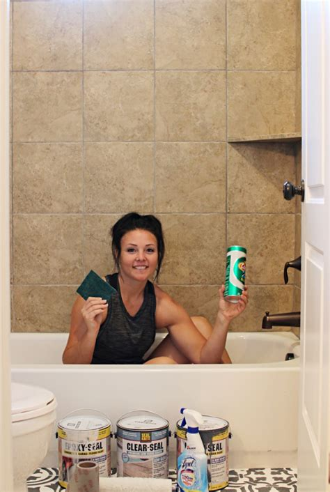 painting bathroom tile in shower painting tile in bathroom shower home design