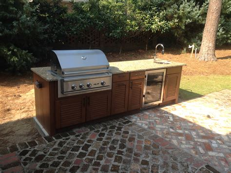 why can t i use wood in my outdoor kitchen fireside