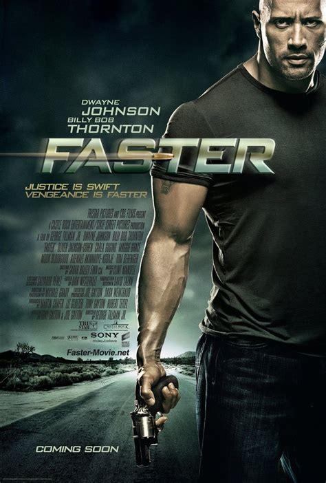 film action dwayne johnson faster movie poster teaser trailer