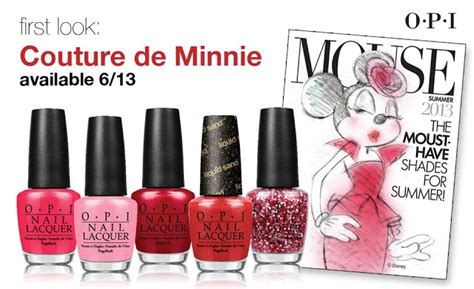 Promo G Ci G075 Pink nail opi couture de minnie collection 2013