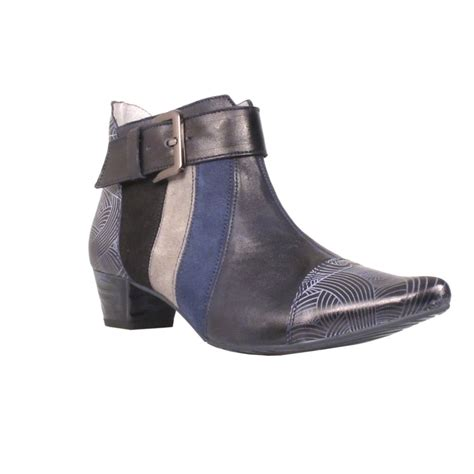 Casandra Navy maciejka womens boot navy