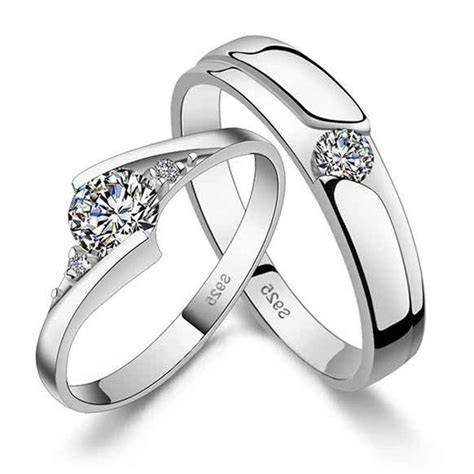 Wedding Ring Design Types by Different Types 925 Sterling Silver King And