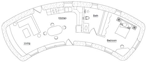 hobbit home floor plans hobbit earthbag house plans