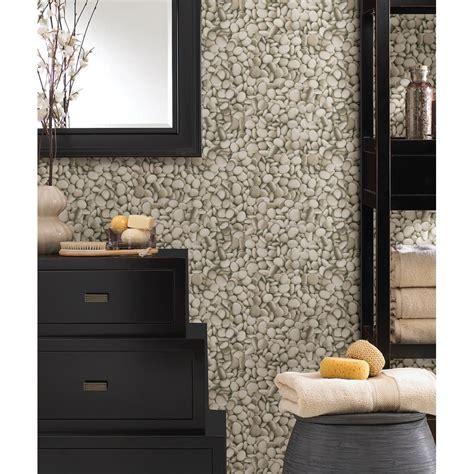 Buy Bathroom Wallpaper Uk Buy Decor Pebble Wallpaper Beige