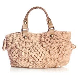 Sweater Knit Satchel By Gerard Darel by The Look 4 Less Gerard Darel 24 Hour Sweater Bag