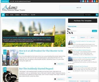 templates blogger premium download adamz responsive premium blogger template blogger