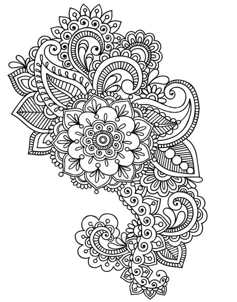 color henna tattoo pin by shultz on coloring pages