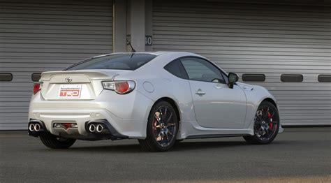 toyota gt 86 with trd exhaust