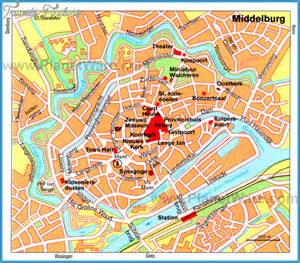 middelburg netherlands map netherlands map tourist attractions travel map vacations travelsfinders