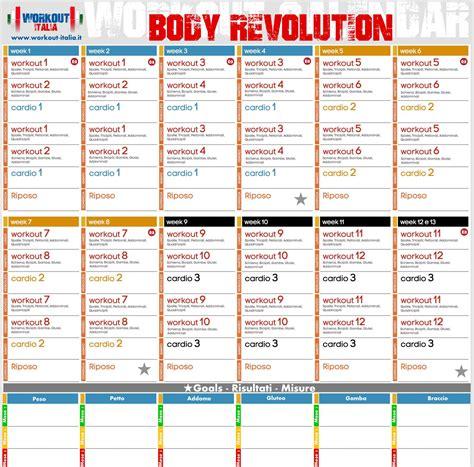 programma alimentare per aumento massa muscolare revolution workout workout italia