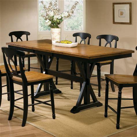quails run counter height dining table wayfair