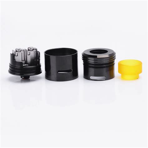 Prometheus Rda Rebuildable Atomizer kryten style rda black 24mm rebuildable atomizer with bf pin