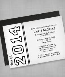 high school graduation invitation template print