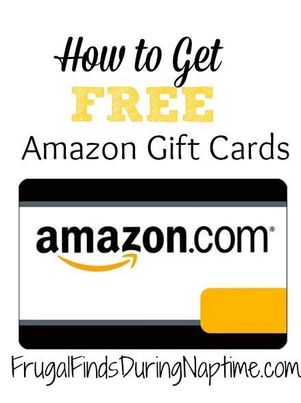 Easy Way To Earn Amazon Gift Cards - gift cards amazons and cards on pinterest