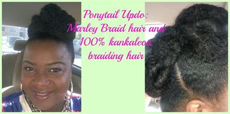 marley braid ponytail pictures ponytail updo using marley braid hair foxxy s adventures