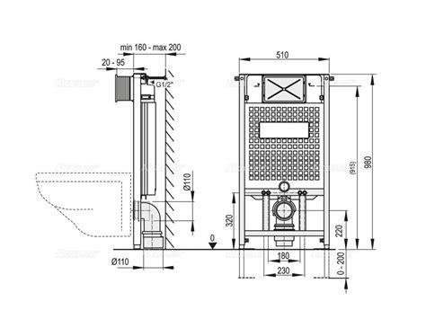 wc inklusive bidet wc vorwandelement inkl dr 252 ckerplatte zur eckmontage