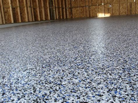 Speckled Paint For Garage Floors by Garage Floor Paint Options