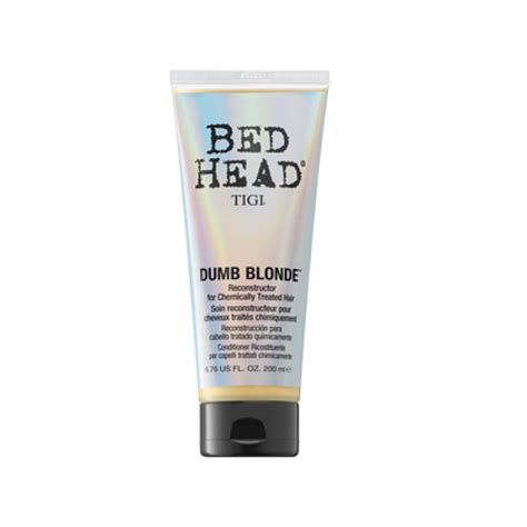 bed head dumb blonde review tigi dumb blonde reconstructor bed head
