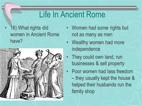 how did rome treat different sections of its conquered territory life in ancient rome chapter 10 section 1 pg ppt video