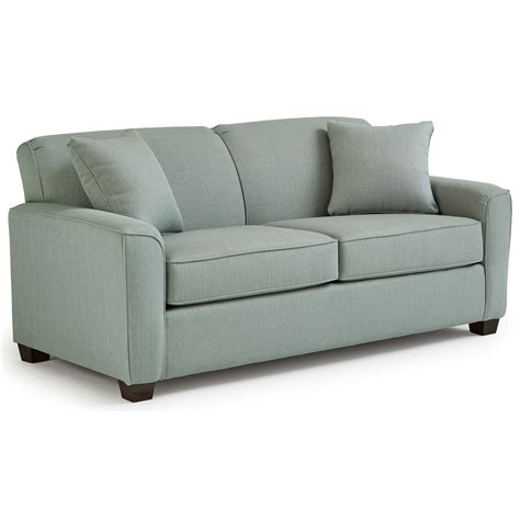 sleeper sofa with air dream mattress best home furnishings dinah contemporary full sofa sleeper
