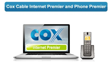 cox home phone plans cox internet premier and phone premier bundle plans