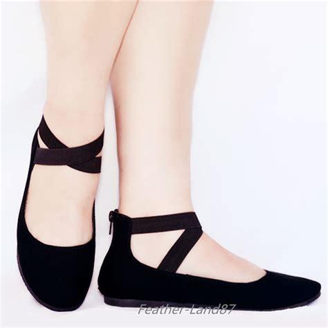 Cross Flats new ankle ballet flats criss cross
