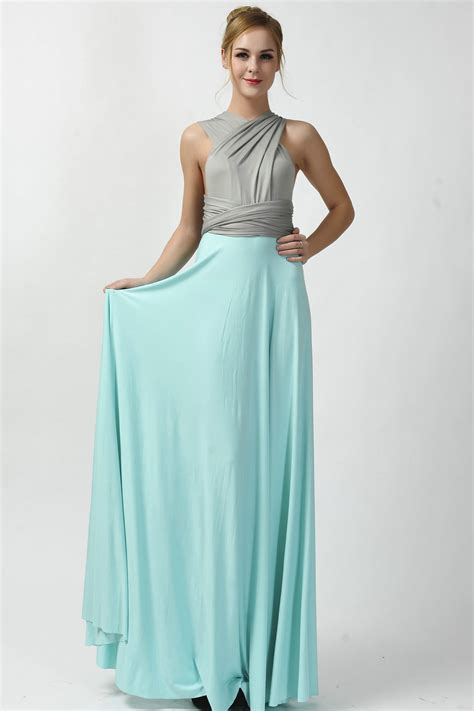 2016 new arrival two tone infinity convertible bridesmaid