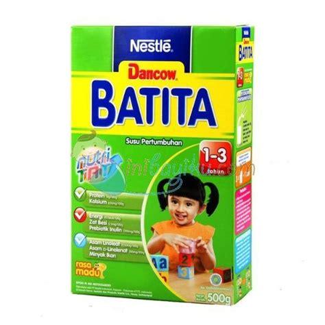 Dancow Batita 500gr jual produk dancow batita madu dha box size 500gr age