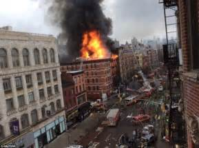 building collapse in east explosion in new york