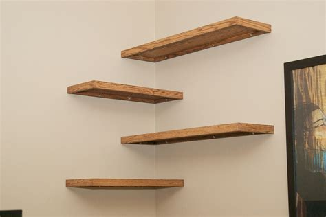 floating corner shelves simple and stylish diy floating shelves for your home
