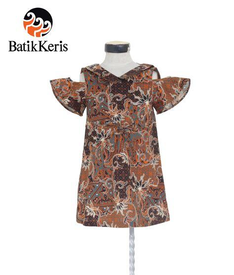 Pl Rok Dress Anak Motif rok terusan anak motif bhinneka batik keris