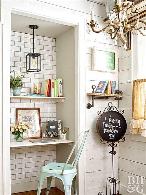 desk in walk in closet small walk in closet design ideas better homes gardens