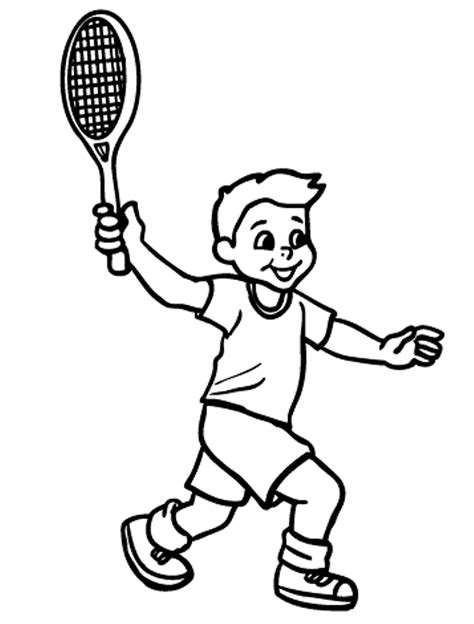 coloring pages of kids playing sports az coloring pages