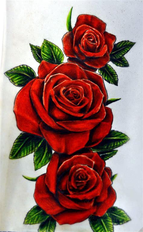 imagenes de rosas rojas vintage m 225 s de 1000 ideas sobre tatuajes de rosas rojas en