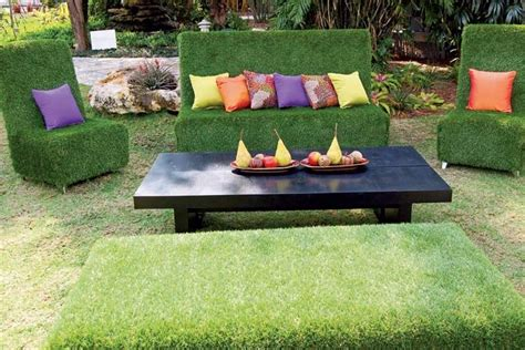 La Tulipe Finishing Touch New artificial grass furniture oh la la wouldn t this be the