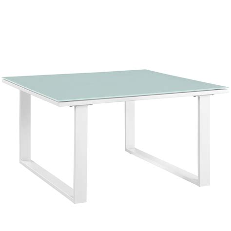 white outdoor side table fortuna outdoor patio side table white buy at best