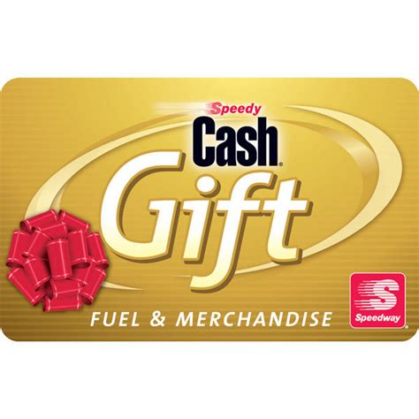 Gas Card Gift Card For Gas Only - 100 speedway gas gift card mail delivery ebay