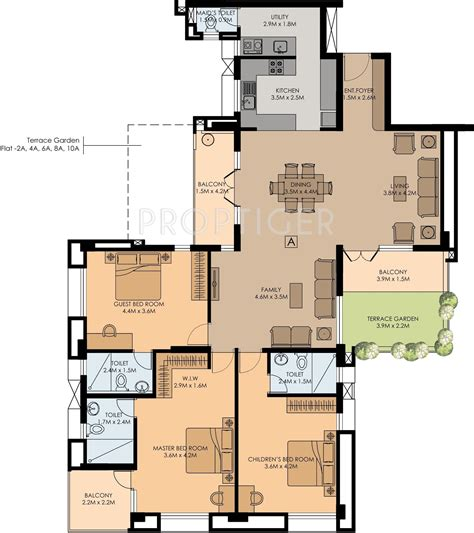 floor plan elements good elements in vazhakkala kochi price location map