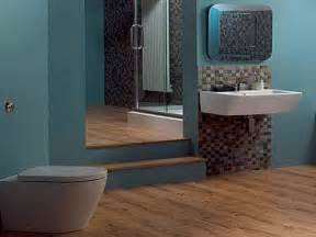 bathroom modern design brown and blue bathroom ideas