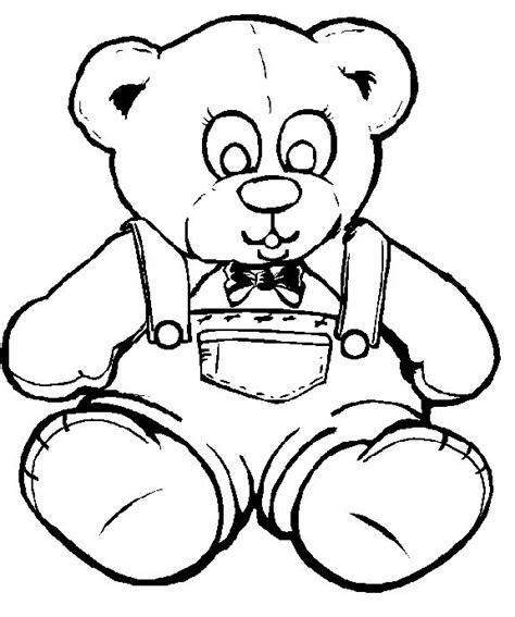 coloring page of teddy bear 62 best teddy bears images on pinterest kids net teddy