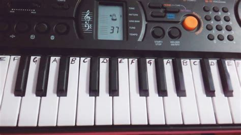 tutorial for casio keyboard radhe radhe japa karo on casio keyboard easy tutorial