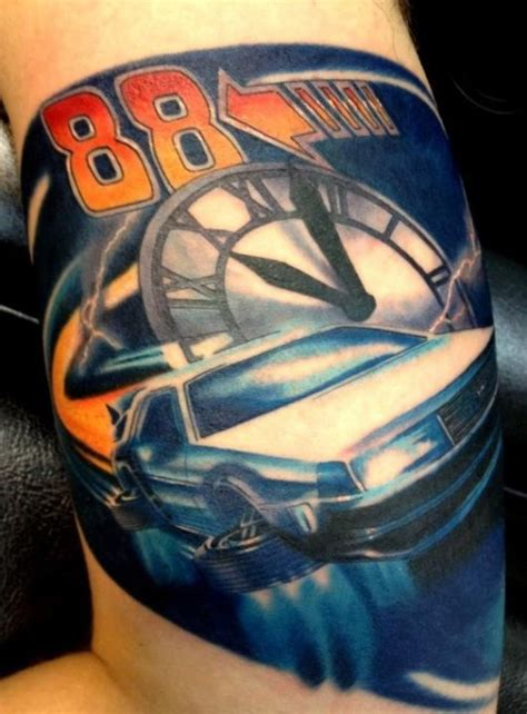 zoey taylor tattoo fyeahtattoos s spencer s back to the future