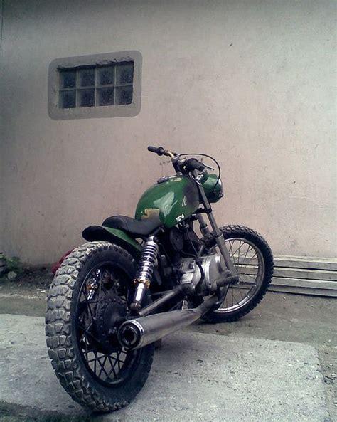 125er Motorrad Retro by Brat Style Kawasaki B1 125 Eagle Bratstyled